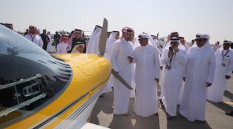 سعادة وزير المواصلات والاتصالات:  ملتقى الخور للطيران يمثل دعما كاملا للسياحة في قطر وللشباب القطري والخليجي